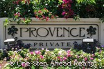 Provence community sign