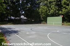 enjoy a pick-up game of basketball after work
